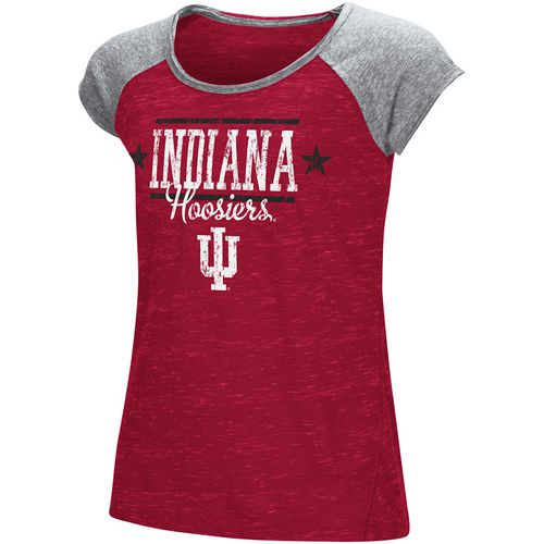Colosseum Athletics Girls' Indiana University Sprints T-shirt