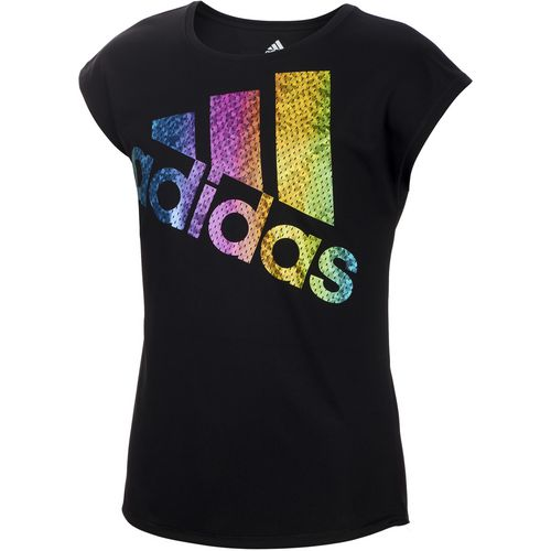 adidas Girls' climalite Just Shine T-shirt
