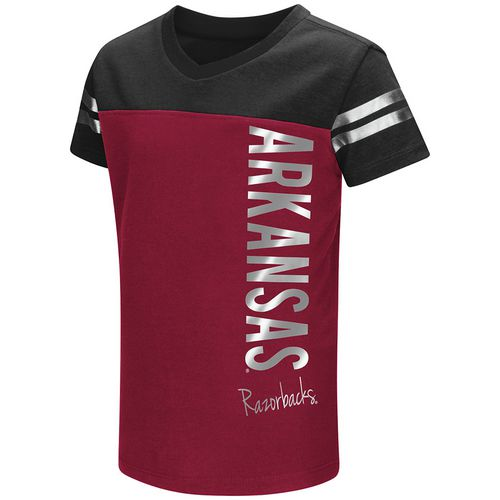 Colosseum Athletics Toddlers' University of Arkansas Cricket T-shirt
