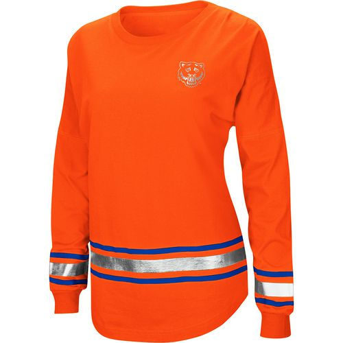 Colosseum Athletics Women's Sam Houston State University Humperdinck Oversize Long Sleeve T-shirt