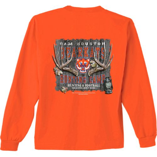 New World Graphics Men's Sam Houston State University Hunt Long Sleeve T-shirt