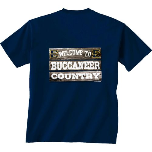New World Graphics Men's East Tennessee State University Welcome Sign T-shirt