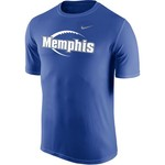 Nike Men's University of Memphis Dri-FIT Legend 2.0 Icon T-shirt - view number 1