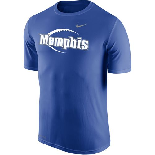 Nike Men's University of Memphis Dri-FIT Legend 2.0 Icon T-shirt