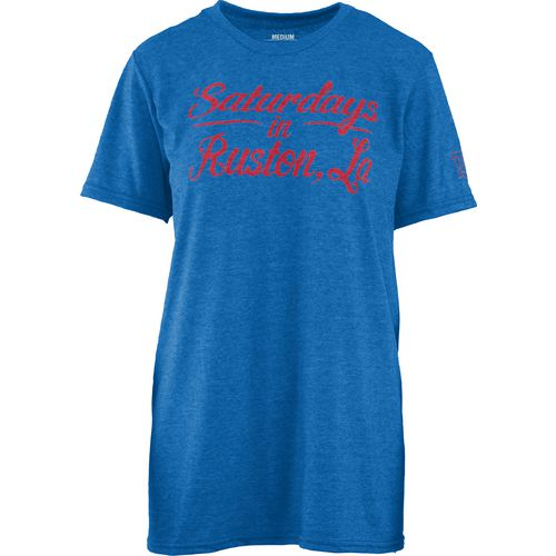 Three Squared Juniors' Louisiana Tech University Saturday T-shirt