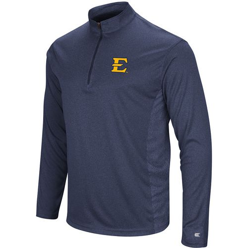 Colosseum Athletics Men's East Tennessee State University Audible 1/4 Zip Windshirt