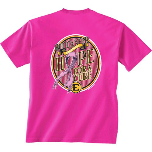 New World Graphics Women's East Tennessee State University Breast Cancer Hope T-shirt