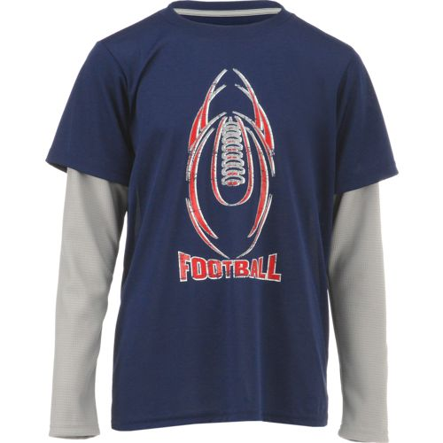 Display product reviews for BCG Boys' Long Sleeve Football Shirt
