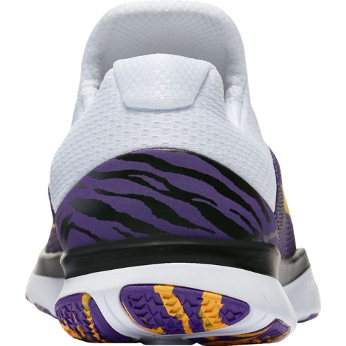 Nike Men's Louisiana State University Free Trainer V7 Week Zero Training Shoes - view number 4