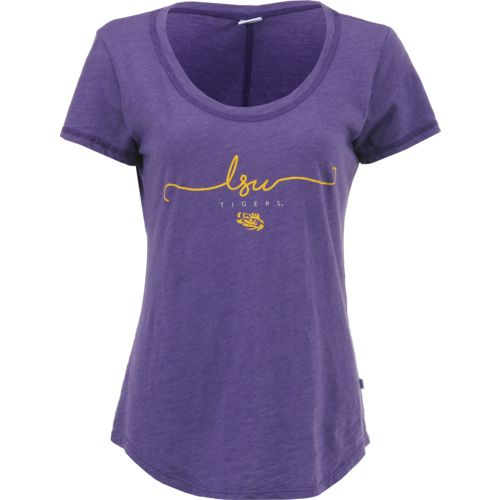 Venley Women's Louisiana State University Slub T-shirt