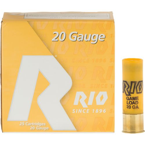 Display product reviews for Rio Game Load 20 Gauge 8 Shotshells