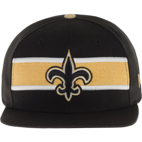 New Era Men's New Orleans Saints 9FIFTY Victory Stripe Cap
