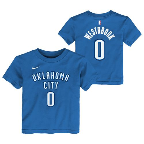 Nike Toddlers' Oklahoma City Thunder Russell Westbrook 0 Icon T-shirt