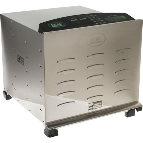 LEM Big Bite Digital Stainless Steel Dehydrator with Stainless Steel Trays
