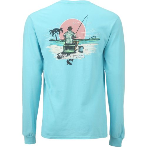 CCA Men's Beach Fishing Long Sleeve T-shirt