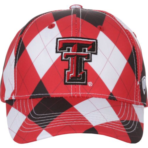 Top of the World Men's Texas Tech University Out Loud 3-Tone Cap