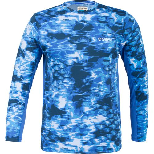 Magellan Outdoors Men's Scale Tech Long Sleeve T-shirt