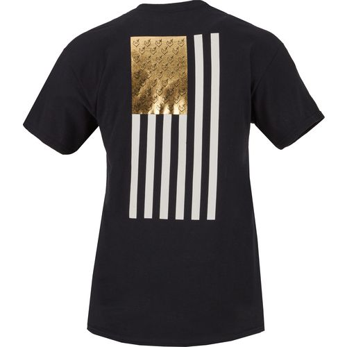 Browning Women's Gold Foil Flag T-shirt - view number 3
