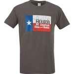 FireBrand Apparel Men's TX Flag Rodeo Short Sleeve T-shirt - view number 1