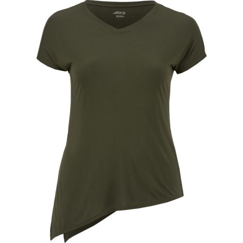 Display product reviews for BCG Women's Athletic Lifestyle Side Tie T-shirt