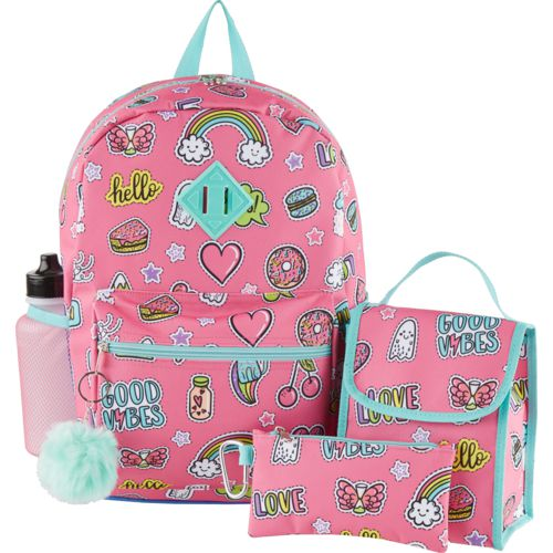 A. D. Sutton Kids' 6-in-1 Backpack with Lunch Kit