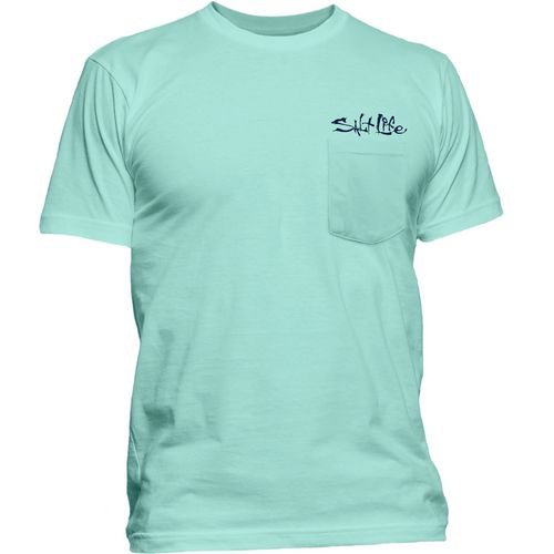 Salt Life Men's Cracking Claws T-shirt