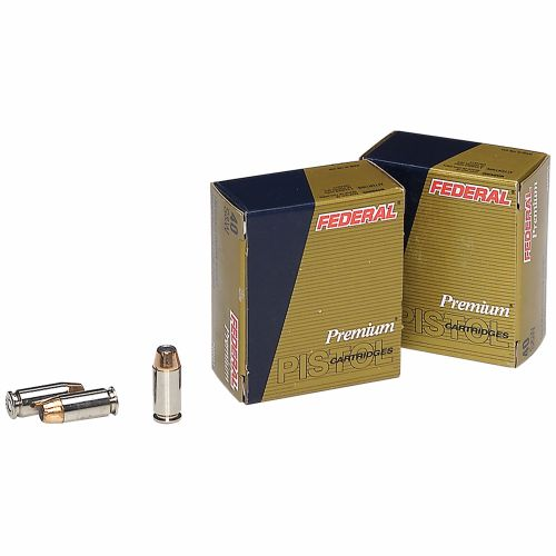 Federal Premium® Personal Defense® Hydra-Shok® JHP .40 Smith & Wesson 180-Grain Ammun