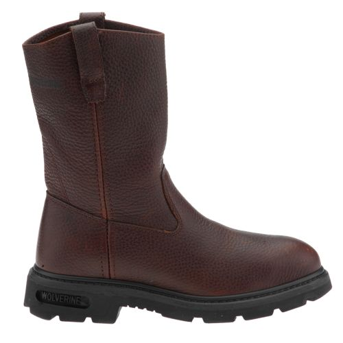 Wolverine Men's Steel-Toe Wellington Work Boots