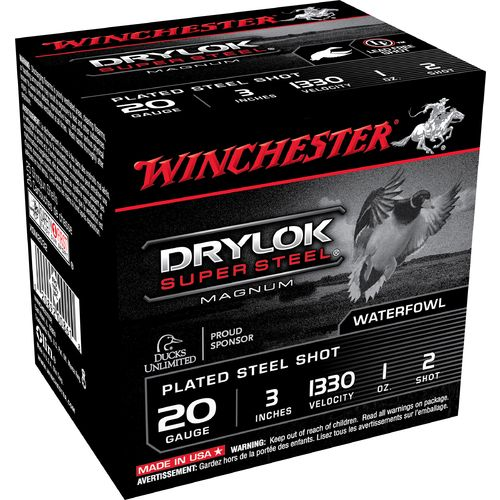 Winchester Super-X Drylok Super Steel™ Waterfowl Load 20