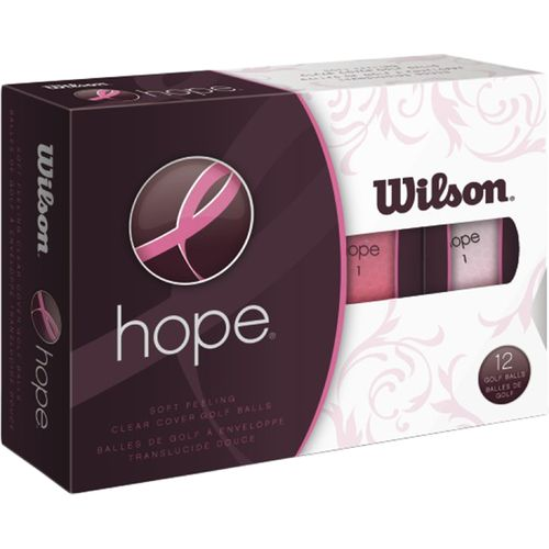 Wilson Hope Golf Balls 12-Pack