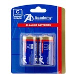 Academy C-Cell Batteries 2-Pack
