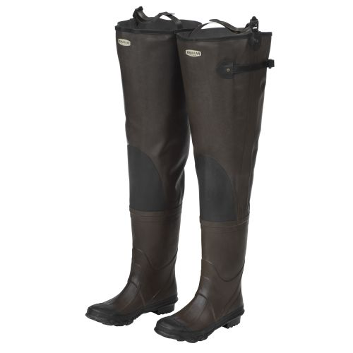 Hip boots hip waders waist high waders academy for Fishing waders with boots