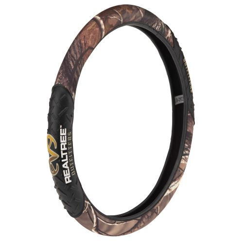 Image for Realtree Outfitters® Rubber Molded Steering Wheel Cover from Academy