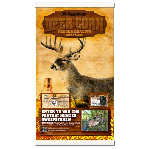 Image for Academy Sports + Outdoors™ 40 lbs Deer Corn from Academy
