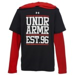 Under Armour® Boys' Layered Graphic Hoodie