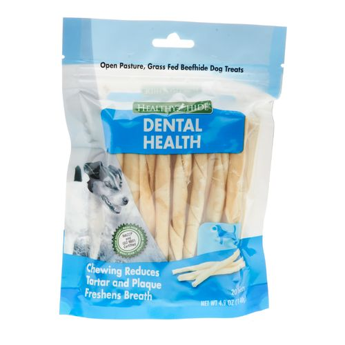 Healthy Hide Dental Twists 20-Pack