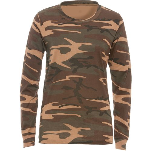 Game Winner® Women's Long Sleeve Camo T-shirt