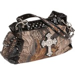 Realtree Women's Hardwoods Cross Satchel