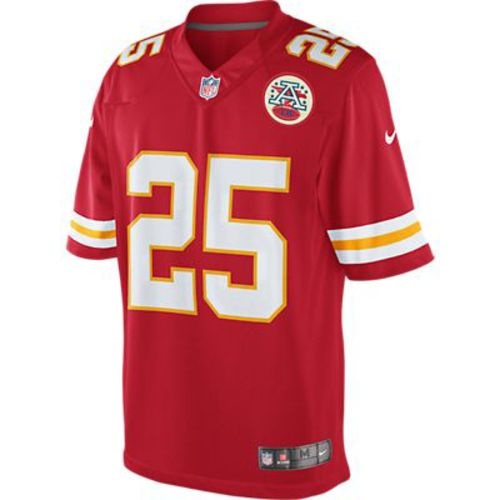 Nike Men's Kansas City Chiefs Jamaal Charles #25 Limited Jersey