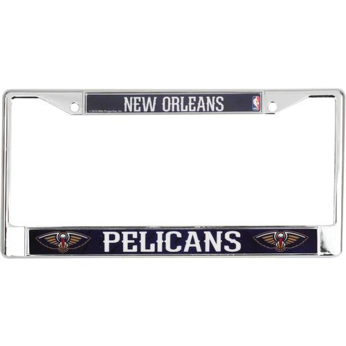 Tag Express New Orleans Pelicans Chrome License Plate Frame