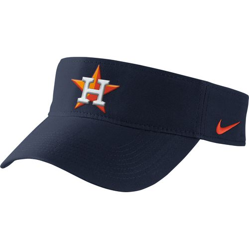 Image for Nike Men's Houston Astros Dri-FIT Stadium Visor from Academy