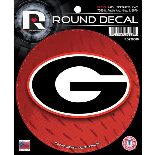 Display product reviews for Tag Express University of Georgia Round Decal