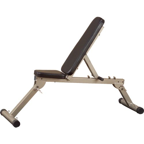 Body-Solid Best Fitness Flat Incline Decline Folding Bench