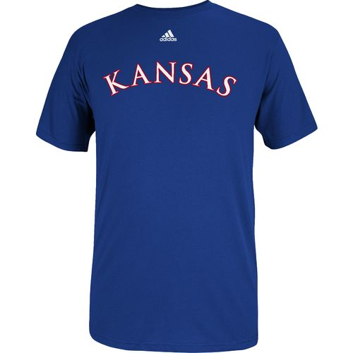 adidas™ Men's University of Kansas Team Font T-shirt
