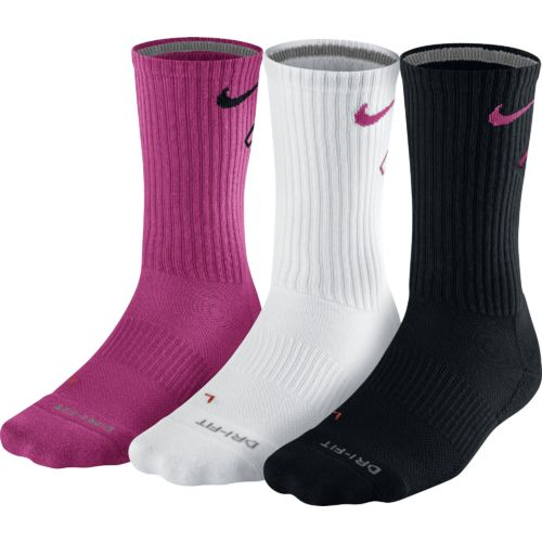 Nike Men's Dri-FIT Cotton Fly Crew Socks