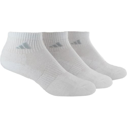 adidas™ Women's Cushioned Variegated Quarter Socks 3-Pair