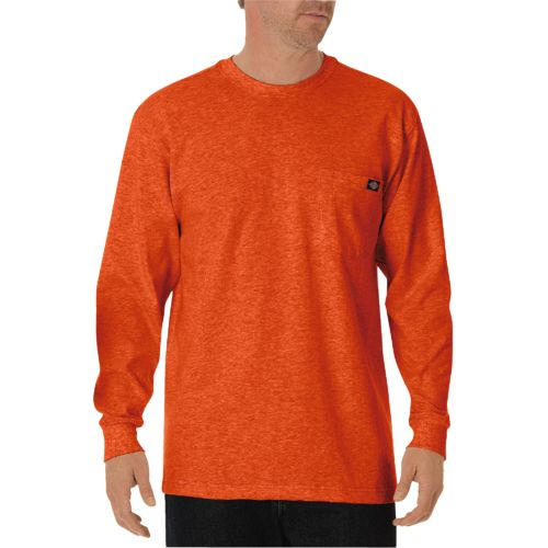 Display product reviews for Dickies Men's Heavyweight Crew Neck Long Sleeve T-shirt