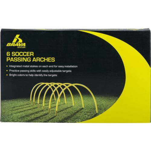 Brava™ Soccer Passing Arches 6-Pack