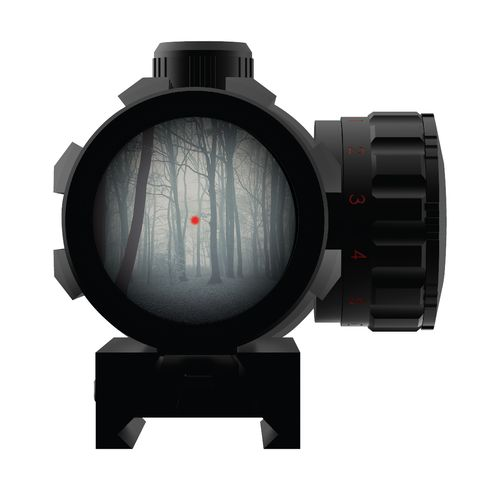 iProtec Sight Railer 2 x 42 Dot Scope - view number 4