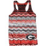 Blue 84 Juniors' University of Georgia Sublimated Racerback Tank Top